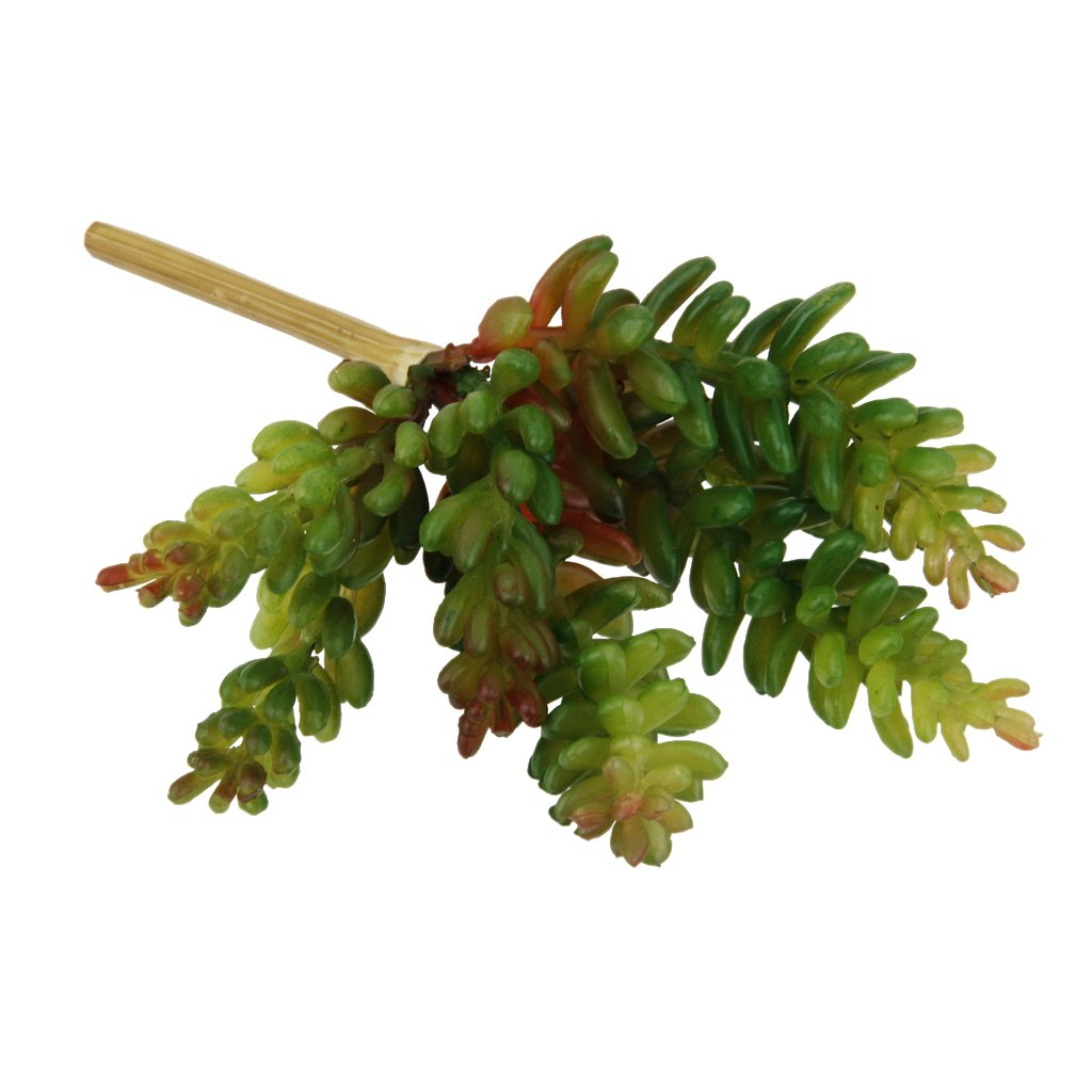 Generic Artificial 7-branch Bunch Succulent Floral Foliage Fake Plant Home Decor AEQW-WER-AW135035