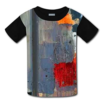 Mmm fight Abstract Paint Stain Light Weight T-Shirt 2017 The Latest Version For kidsfree Postage