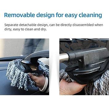 HUVE Duster para el automóvil Limpieza del automóvil Cera ...