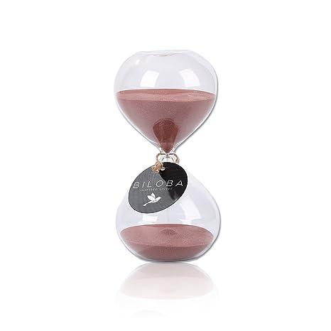 Reloj de arena Biloba Puff, cobre, 4.5 Inch , 5 Minutes(+/