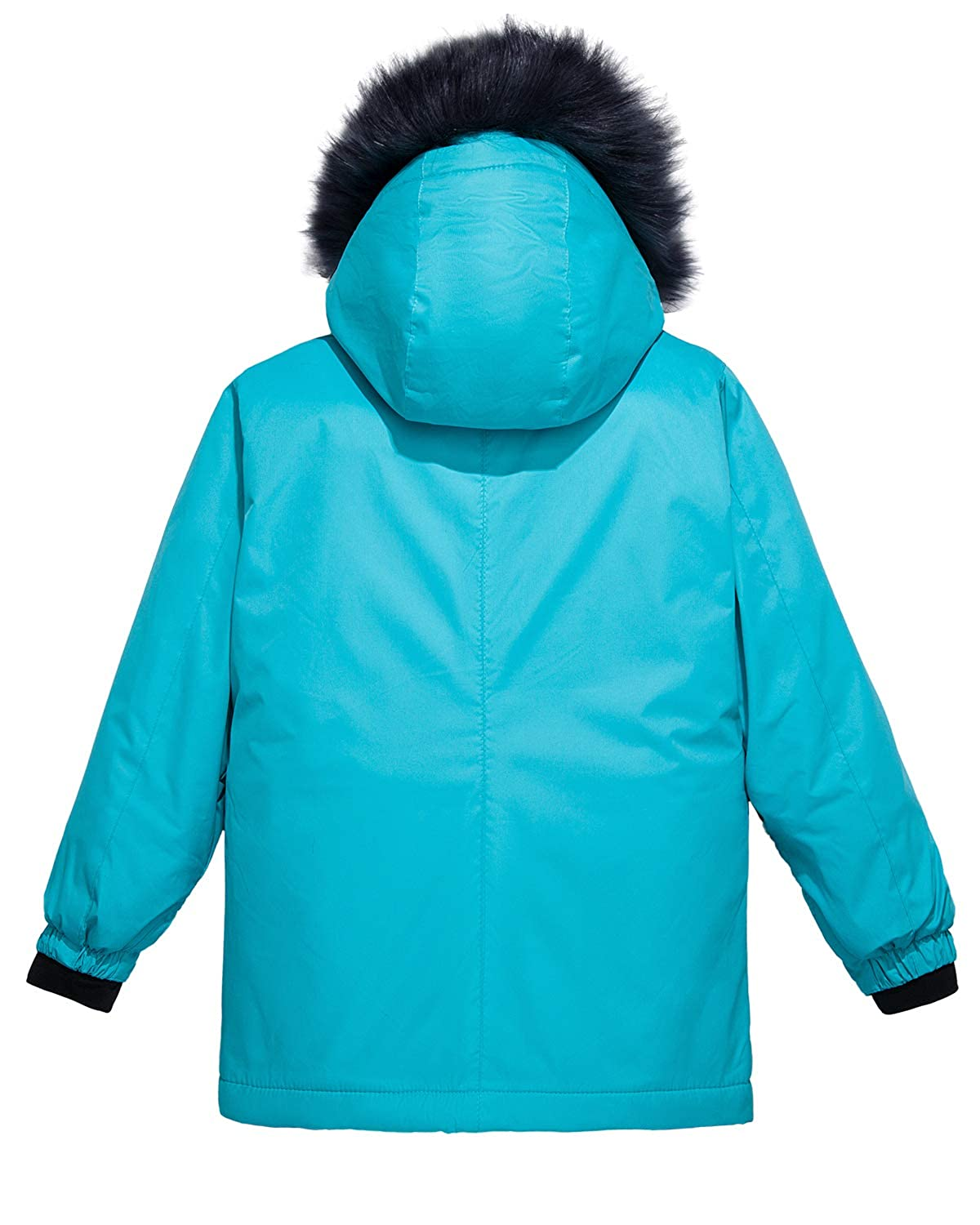 Wantdo Girls Waterproof Ski Jacket Parka Outdoor Jacket Windproof Warm Winter Coat