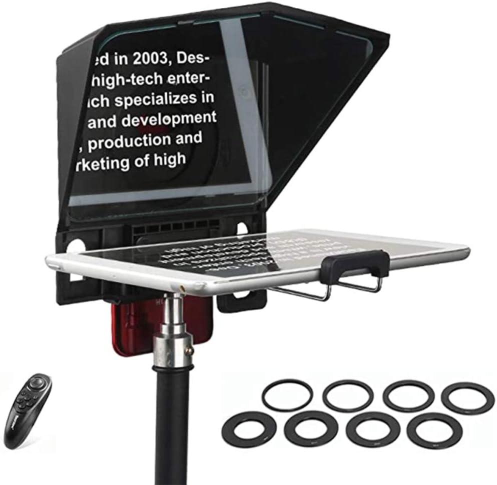 Desview Teleprompter portátil para Smartphone/Tableta/Cámara DSLR ...