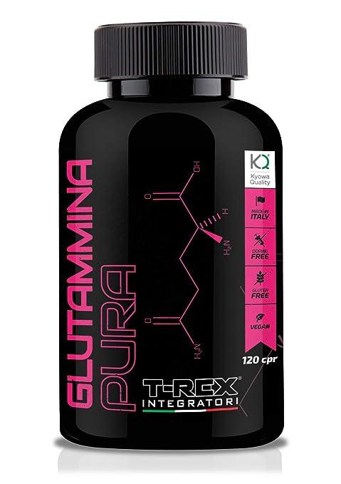 L - Glutamina Pura Kyowa 120 Tabletas | Aumenta la hormona ...