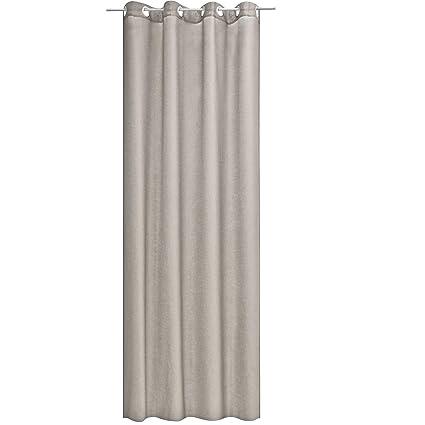 Ösenschal Blickdicht 140cm x 245cm Ösengardine Ösenvorhang Ösen Schal Vorhang
