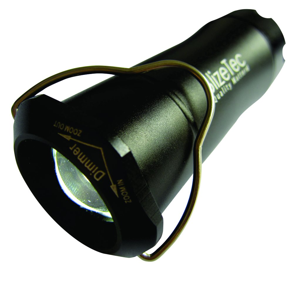 BlizeTec Lantern Flashlight: 2-in-1 Tactical Creed LED Light Powered by 200 Lumen Output; Rainproof and Shockproof with 3 Adjustable Modes
