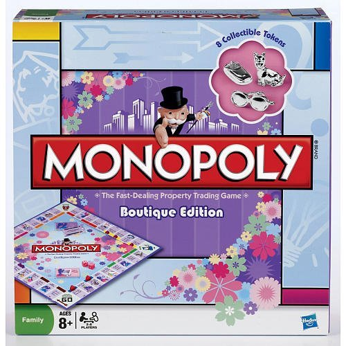 Monopoly Boutique Edition 2009 Edition by Hasbro
