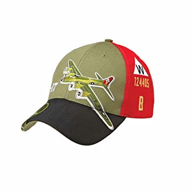 849f27487ca Sporty s Adjustable B-17 Flying Fortress Bomber Airplane Cap Hat ...