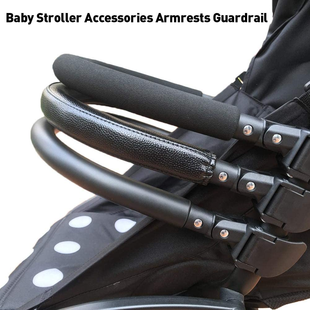 Stroller Accessories,Baby Stroller Accessories Armrests Guardrail Umbrellas Adjustable Armrests for Yoyo//Yoya//vovo//Bei Dengbao and Other Models,42.5cm/×6.5cm/×34.0cm.
