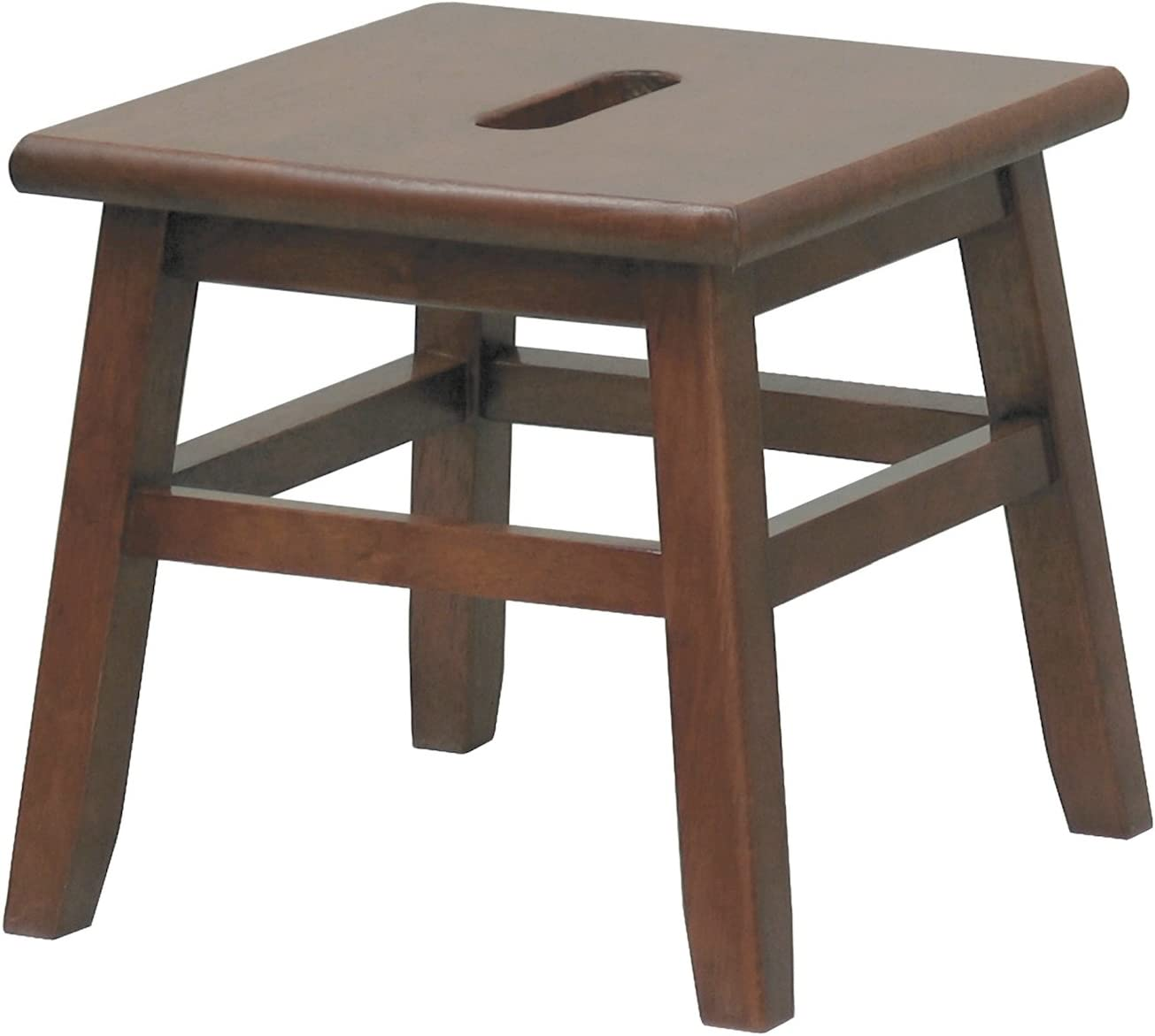 Walnut Conductor Stool – Winsome 94213