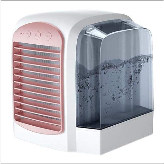 Huo J Acondicionador de Aire pequeño, Mini Ventilador portátil de ...