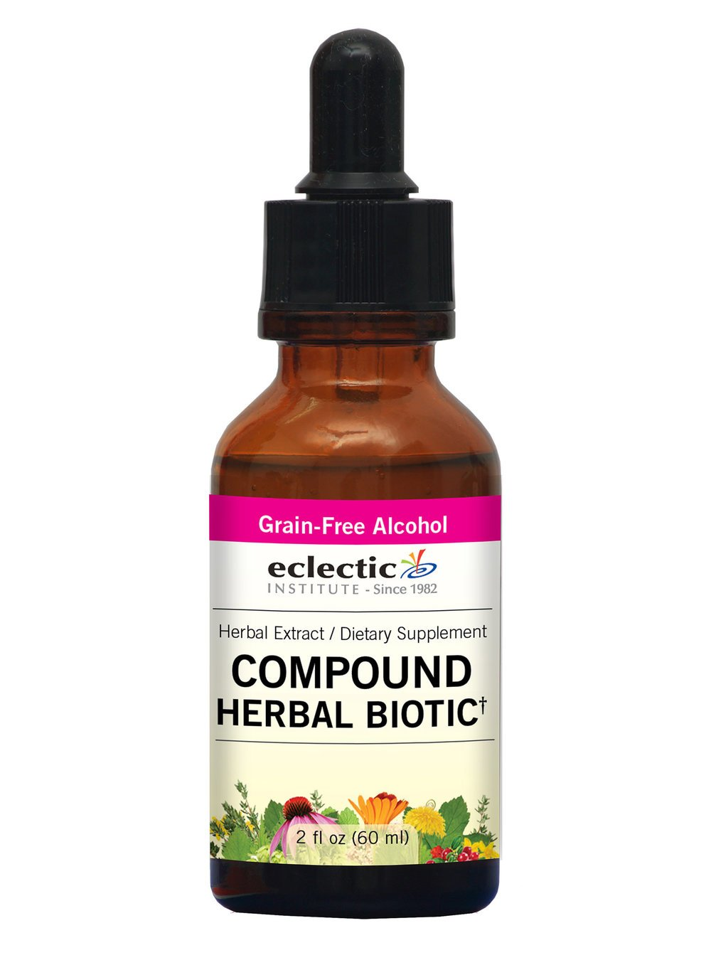 Eclectic Compound Herbal Biotic, Red, 2 Ounce