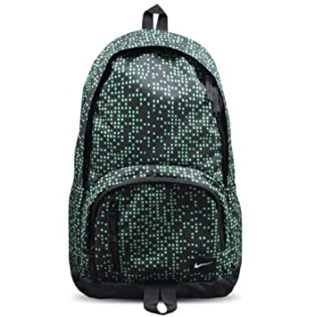 Nike All Access Soleday Backpack 30L Black Green Laptop Bag  Amazon.co.uk   Luggage 6012a6469a8d6