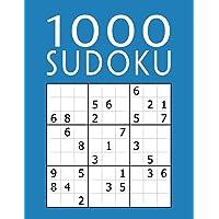 1000 SUDOKU: Colección XXL | fácil - medio