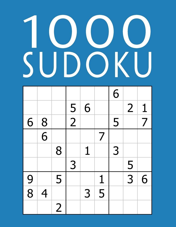 1000 SUDOKU: Colección XXL | fácil - medio - difícil - experto | 9x9 Clásico Puzzle | Juego De Lógica Para Adultos: Amazon.es: Mega Sudoku 1000: Libros