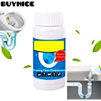 Pipe Dredge Deodorant,Powerful Sink and Drain Cleaner,Magic Bubble Bombs Fast Foaming Pipe Cleaner Deodorant Strong Cleaning Agent Tool for Kitchen Toilet Pipeline Quick Cleaning