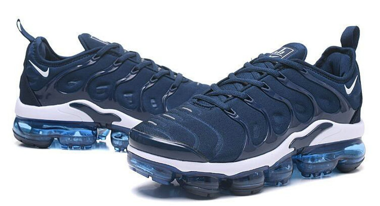 buy popular 8f3f1 e7305 czech air vapormax plus tn hombre tn athletic blue white 2018 zapatillas de  running para hombre