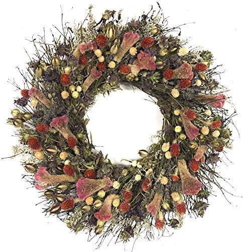 VanCortlandt Farms Handmade Cheyenne Wreath (Dried Floral Wreath)