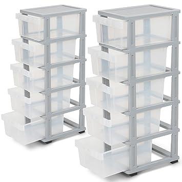 Jago Rollcontainer Rollschrank Container Schubladenschrank Aus