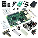 Eleduino Raspberry Pi 2 (1GB) Super Starter Kit New Raspberry Pi 2 /WiFi Dongle /8GB SD Card / Case /Power Supply with On/Off Switch Cable Many more