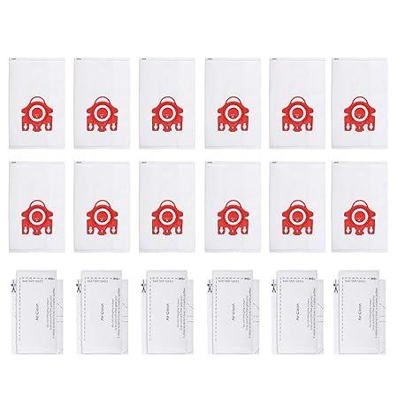 Paquete de 12 Bolsas de aspiradoras para aspiradoras Miele Hyclean ...