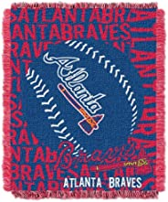 Officially Licensed MLB Double Play Jacquard Throw Blanket, Soft & Cozy, Washable, Throws & Bedding, 4