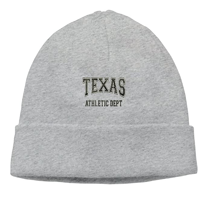 Texas Athletic Dept New Winter Hats Knitted Twist Cap Thick Beanie Hat Ash 500bf4f9e1a