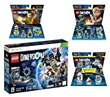 Lego Dimensions Starter Pack + Portal 2 Level Pack + Scooby Doo Team Pack + Jurassic World Team Pack for Xbox 360 Console