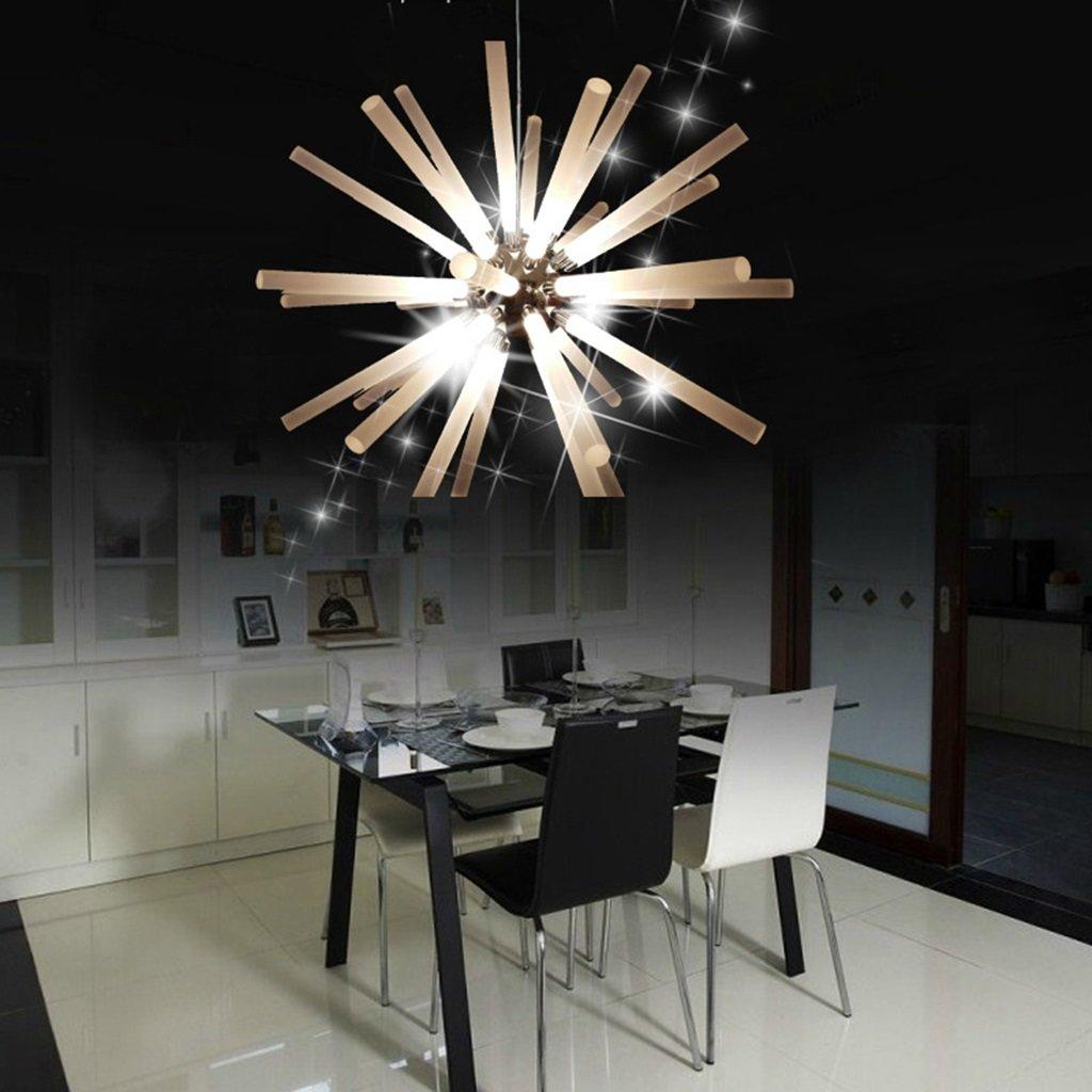 William 337 Moderner LED Restaurant-Leuchter, kreativer Glasleuchter ...