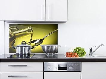 GRAZDesign 200137_80x40_SP Spritzschutz Glas für Küche/Herd | Bild ...