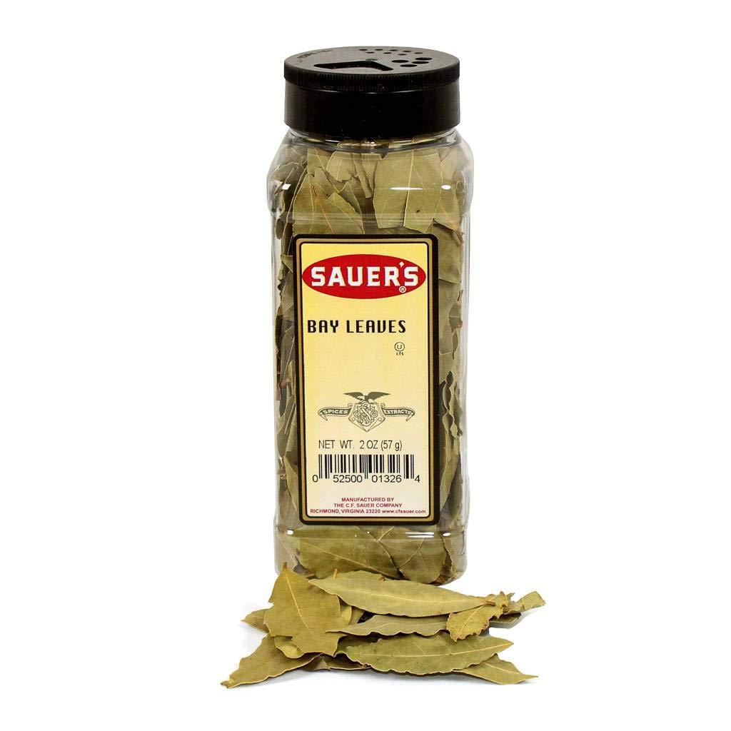 C.F. Sauer Foods Bay Leaf, 2 Ounce -- 6 per case.