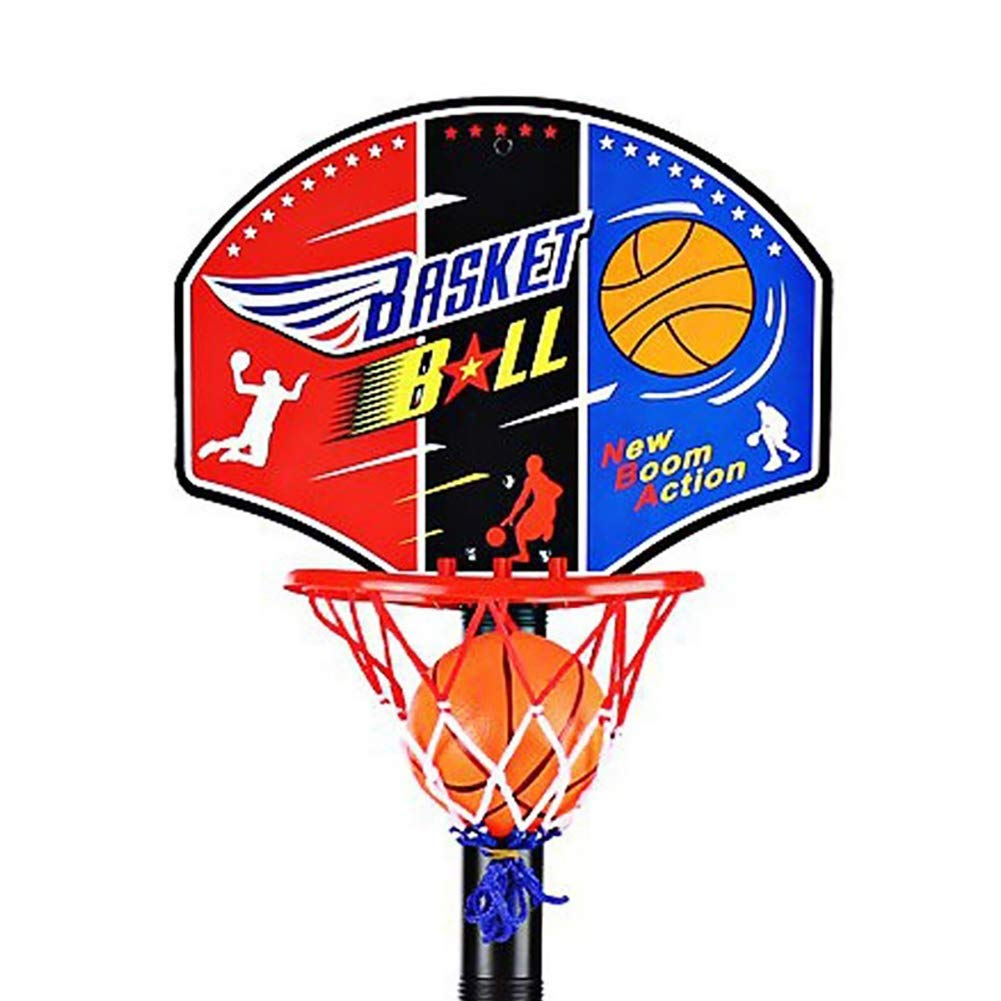 Aland-Adjustable Kids Mini Basketball Hoop Stand Toys Outdoor Indoor Sports Games by Aland (Image #2)