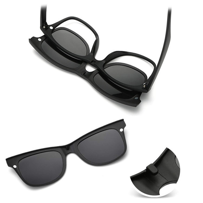 Amazon.com: Gafas de sol polarizadas con clip para hacer ...