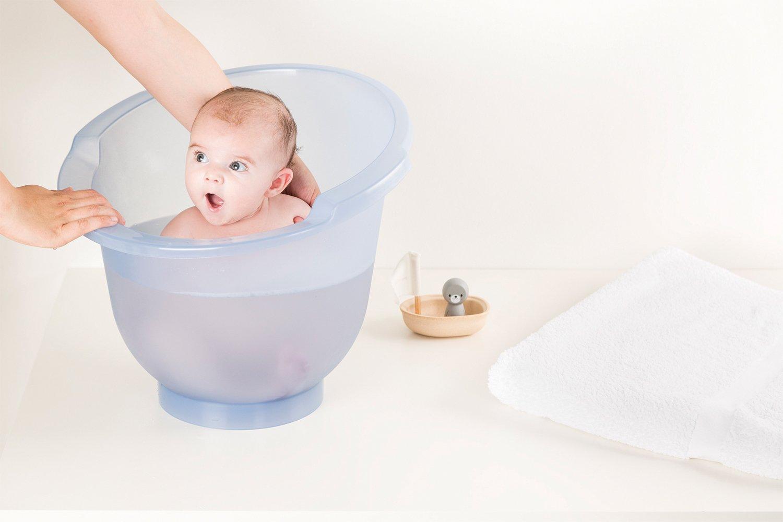 Delta-Baby Ba/ñera portatil Delta Baby Shantala azul