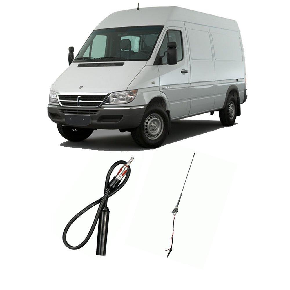 Amazon.com: Dodge Sprinter Van 2003-2006 Factory OEM Replacement Radio  Stereo Custom Antenna: Car Electronics