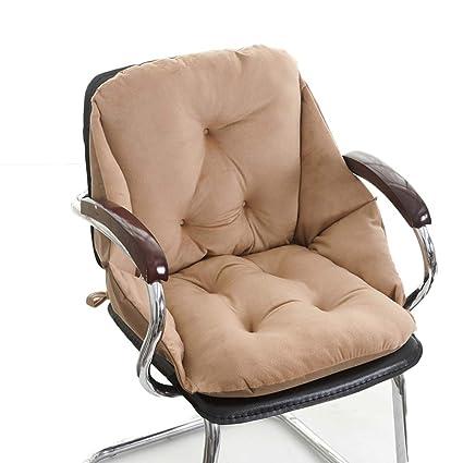 Integrado de suave pelusa Cojines de la silla,Cojines para coche de asiento, Silla
