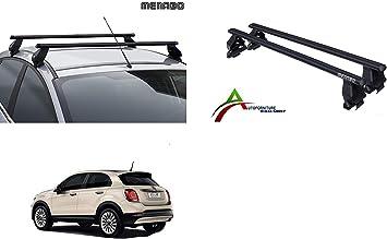 Barre Portatutto Alluminio Fiat 500 X 2015 /> Con Rails Integrati  G3