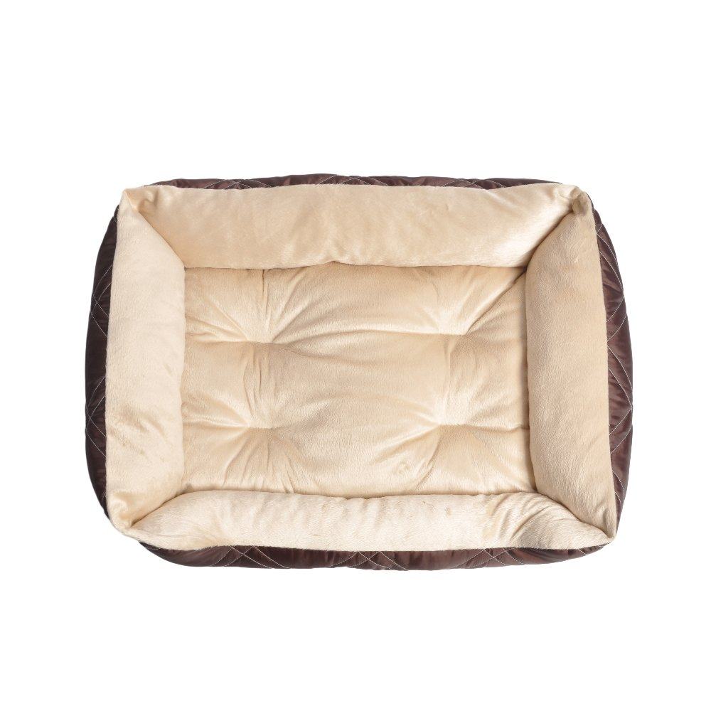 HappyCare Textiles Diamond Quilted Reversible Bed Cuddler