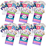 Bundle of Six 12-Month 2018 Reminder Binder Planners, Six Busy Mom Sets (432 ct/set),Six Every Gal Sets (432 ct/set), Six Get it Done Sets (342 ct/set) and Six Dad Task Sets (644 ct/set)