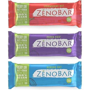 top best ZenoBar Keto Low Carb Energy Bar