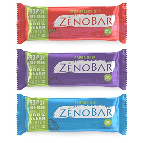 ZenoBar Keto Low Carb Energy Bar