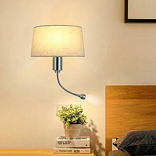 Lampada da parete RFJJ Applique da parete per camera da letto Luci da parete per interni Lampada da soffitto con illuminazione telescopica