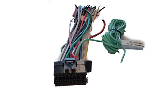 615To2GJ gL._SX522_ pioneer wire harness for sph da210 sph da100 sph da200 avh 4000nex Wiring-Diagram Pioneer Avic- 5100 at panicattacktreatment.co