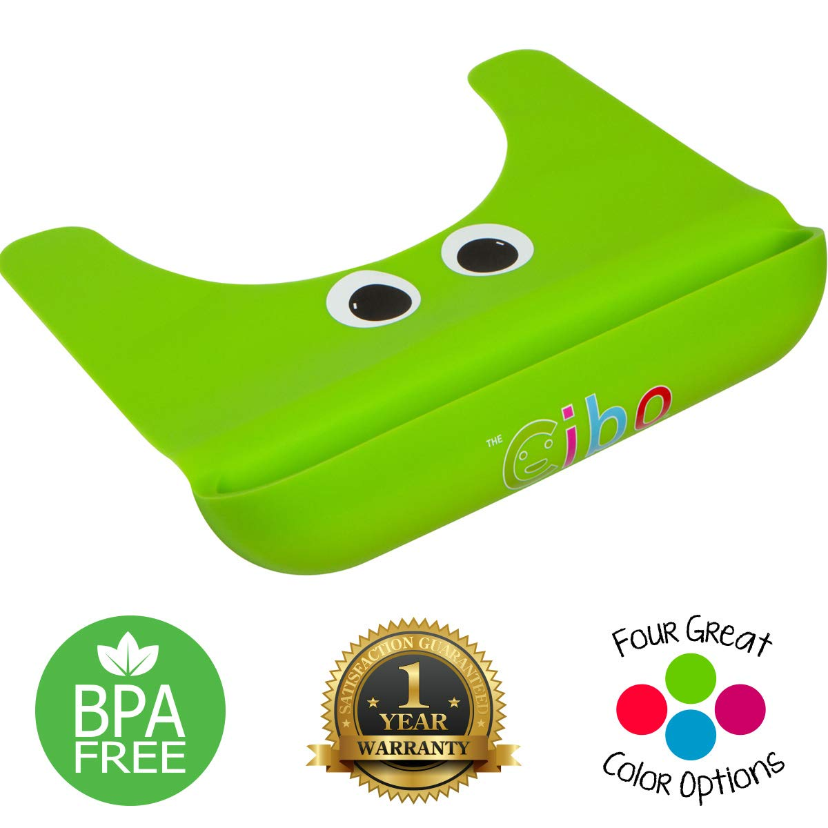 The Cibo Crumb Catcher Silicone Table Mat for Kids - Toddlers and Babies Non-Slip Food Placemat