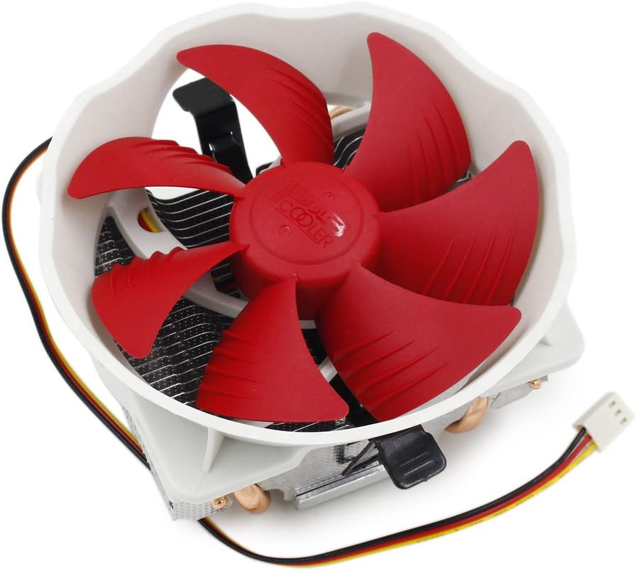 3pin 120MM Large Fan 4 Copper Heat Pipes Radiator Heatsink CPU Cooler for Intel AMD