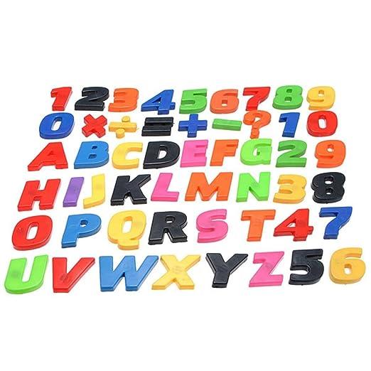 KINGSO 52pcs letras números signos imanes de nevera letras Funny ...