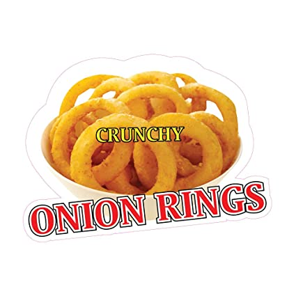 Amazon Com Die Cut Sticker Multiple Sizes Onion Rings