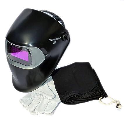 Máscara de soldadura automática 3M Speedglas 100V incl. Bolsa y guantes