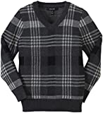 Product review for E-Land Kids Little Boys' Plaid Sweater (Toddler/Kid) - Charcoal
