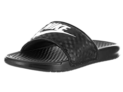 a474f9f190290e Image Unavailable. Image not available for. Color  Nike Black Benassi Slide  Sandals - Women