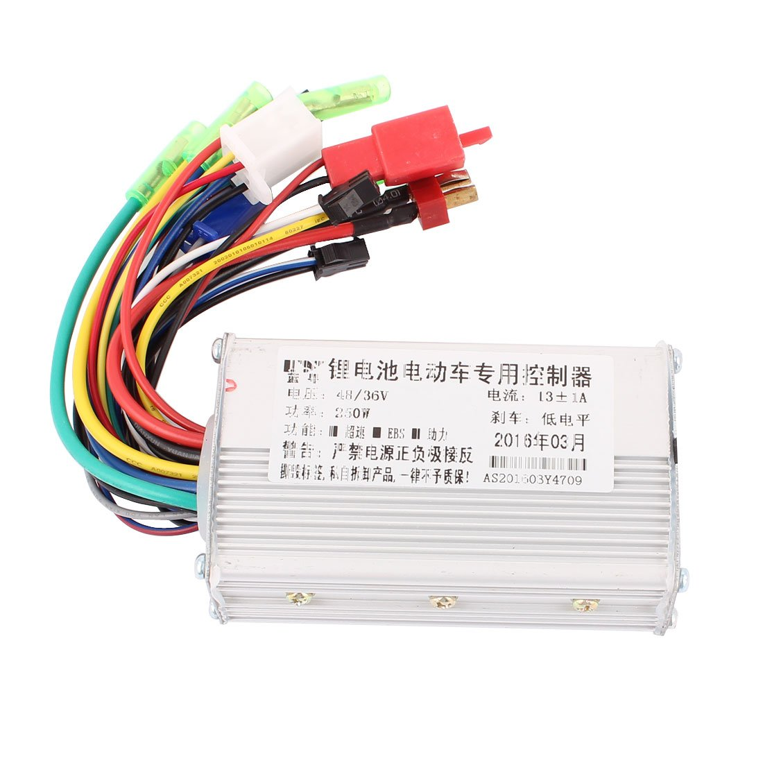 Uxcell 48v 36v 250w Electric Bicycle Brushless Speed Motor Controller Wiring Sports Outdoors
